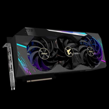 Видеокарта GIGABYTE AORUS GeForce RTX 3090 XTREME 24G