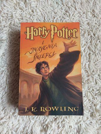 NOWA miękka okładka oprawa Harry Potter i Insygnia Śmierci