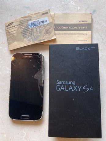 Смартфон Samsung S4 GT I9500 black edition