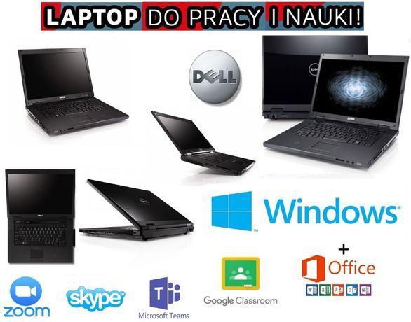 Laptop Dell Vostro 15,6 LED 4GB 500GB do nauki Office Teams Zoom Win10