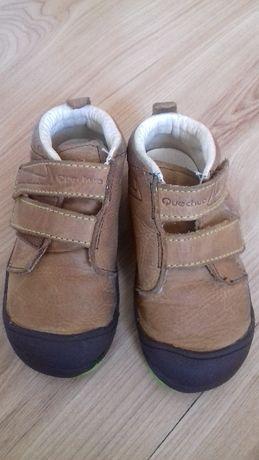 Buty dziecięce 23 sķóra naturalna