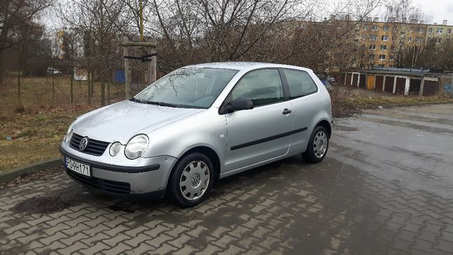 Volkswagen Polo 1,4 benzyna 2003r