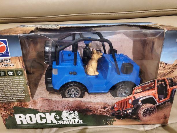 Auto Jeep zdalnie sterowany Nowy