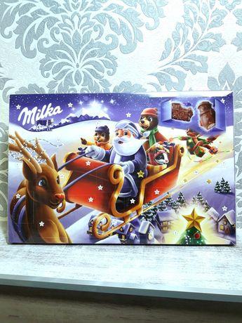 Новогодний Адвент календарь Milka