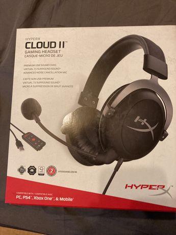 HyperX cloud II 7.1 Gun Metal