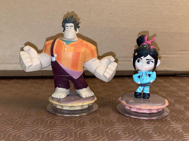 Figura Disney Infinity 1.0 Ralph e Vanellope