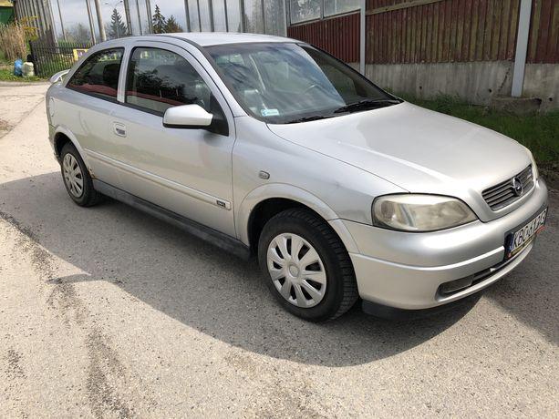 Piekny Opel Astra 1.6 16v, 1999r, skóry, klima