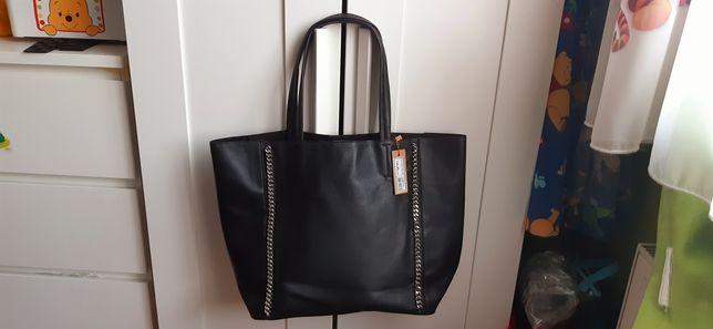 Nowa czarna torebka medecine shopper bag