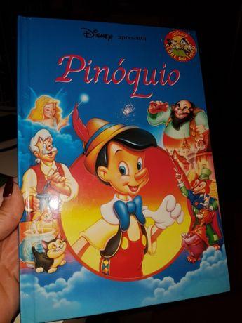 Livro Disney o Pinóquio