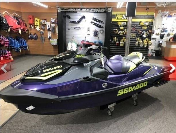 Гидроцикл 2021 Sea-Doo RXT®-X® 300 Midnight Purple