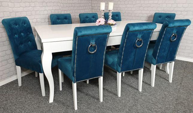 Krzesło z kołatką chesterfield pikowane tapicerowane producent