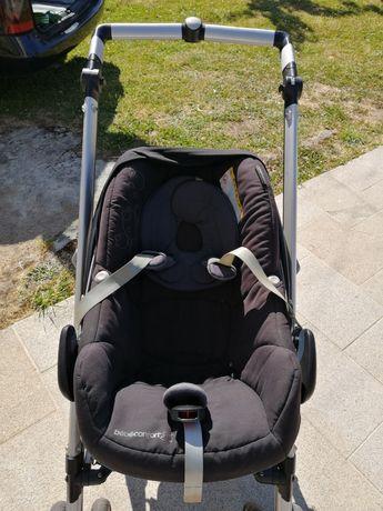 Carrinho passeio com babycoque da Bébéconfort