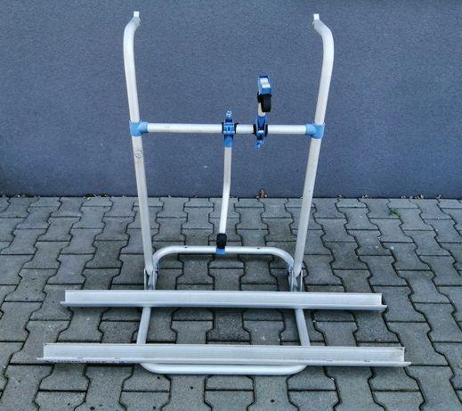 Bagażnik tylny na 2 rowery do przyczepy kempingowej