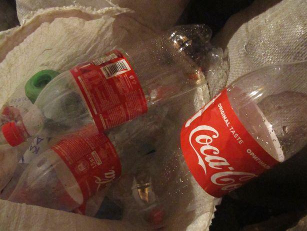 бутылки пластиковые из-под воды