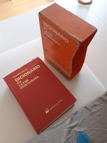 Dicionário latim português Porto Editora