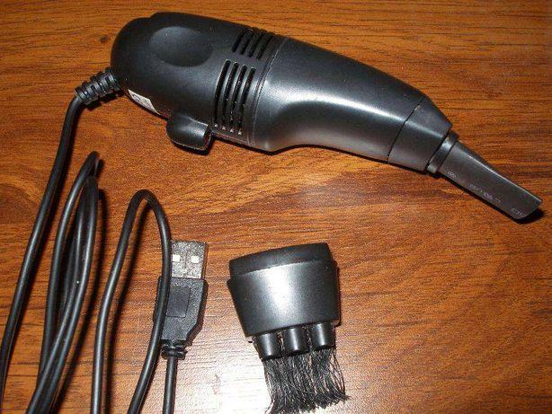 mini odkurzacz oraz lampka na usb