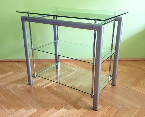 szklany stolik RTV