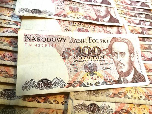 Banknoty PRL 100zl i inne!