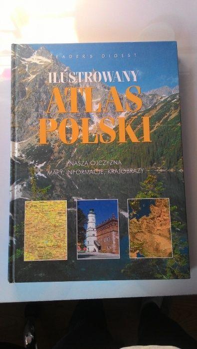 WIELKI ilustrowany Atlas Polski, wyd. Reader's Digest 38x28 jak nowy Jelcz-Laskowice - image 1