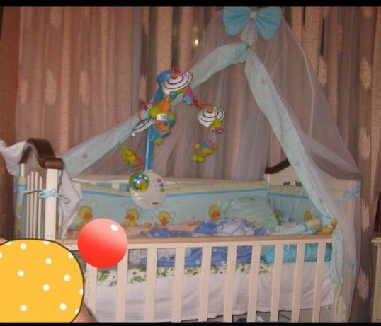 Продам отличную детскую кровать ВЕРЕС+ПОДАРОК!!!