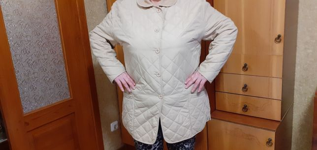 Куртка осенняя женская разм 52