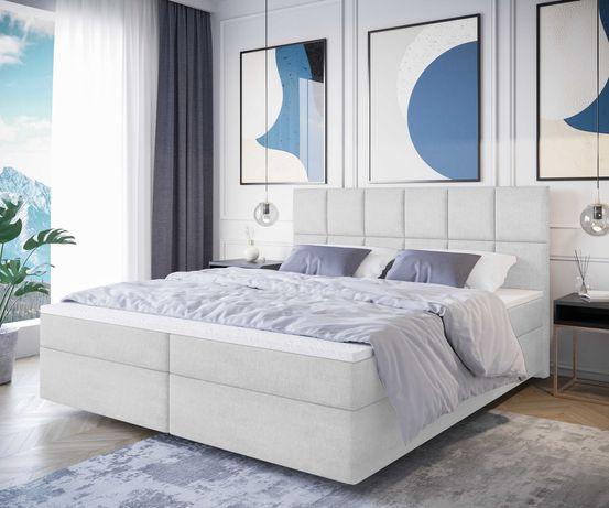 Łóżko kontynentalne tapicerowane 140/160/180 CM LIMIT 3 RODZAJE