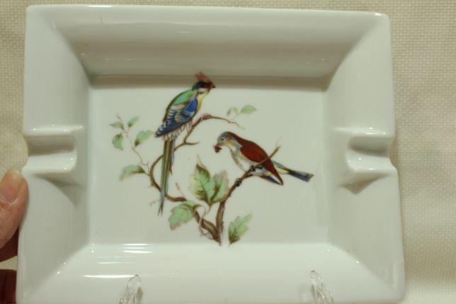 Cinzeiro EMA Vista Alegre Decoração Pássaros 19,5 cm
