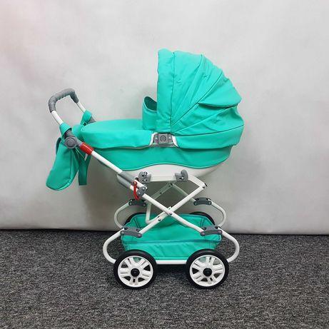 Wózek dla lalek gondola 2w1 kilka kolorów najwyższa jakość SZKRAB WITA
