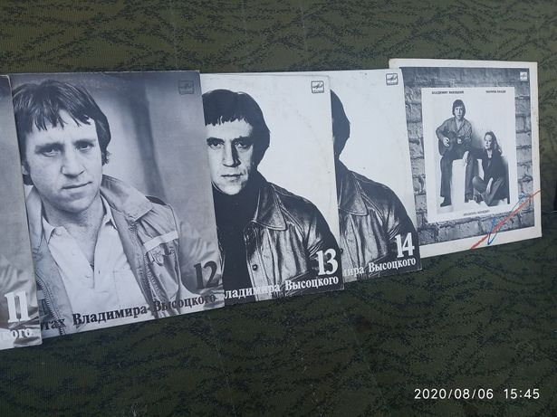 Пластинки виниловые Владимир Высоцкий