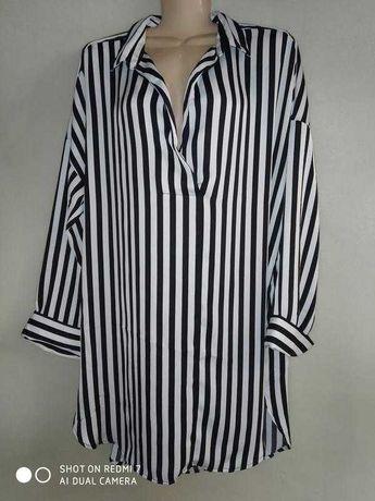 Блуза в полоску р. 54 Lindex