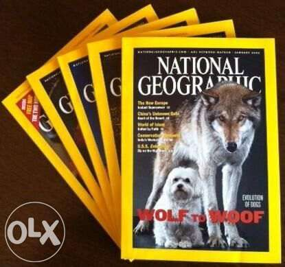 Revistas National Geographic Society