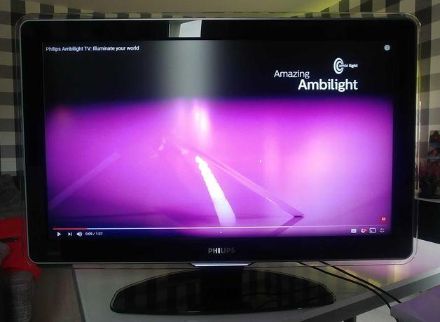 Telewizor Philips 37' cali z amiblight oraz tunerem DVB-T2