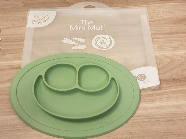 EZPZ Silikonowy talerzyk Mini Mat zielony