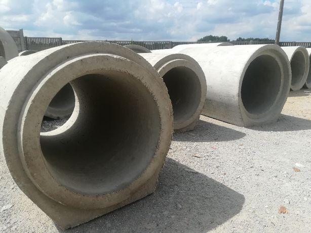 Przepusty drogowe, kręgi betonowe, dreny