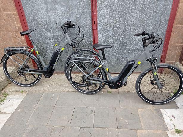 Пара крутих електро e-bike Bulls Street. Рами 43/56. Cube scott