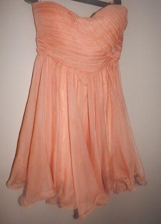 Sukienka z falbowanym dołem marki Vera & Lucy