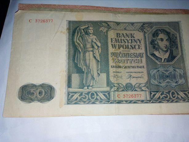 Stere banknoty Polska 3 , Rosja 2 I