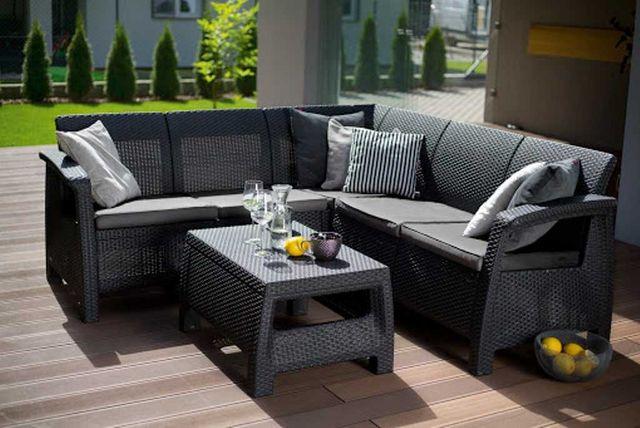 Набор садовой мебели Keter Corfu RELAX, садовая мебель, садові меблі