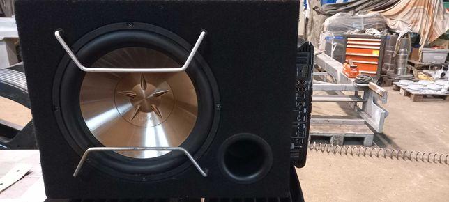 Subwoofer car audio Clarion