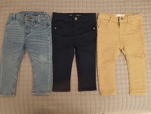 Spodnie, jeansy rozm 80