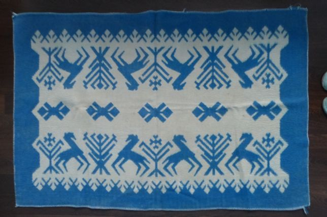 Шерстяное одеяло детское+пододеяльник