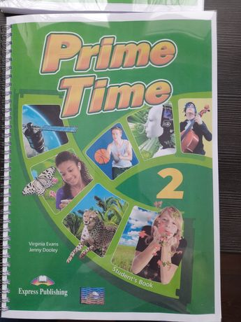 Продам Prime Time 2 workbook, student's book, crossroads