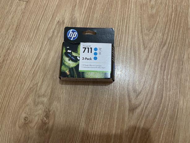 Pack 3 tinteiros cor azul / cyan - Design Jet HP 711