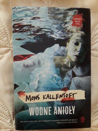 Kallentoft Mons - Wodne anioły - oprawa twarda, nowa, okazja