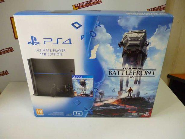 Konsola Sony PlayStation 4 1000 GB czarny 1 pad