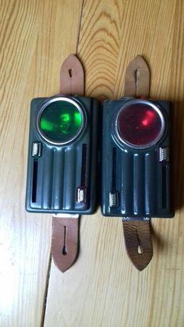 Dwie latarki.