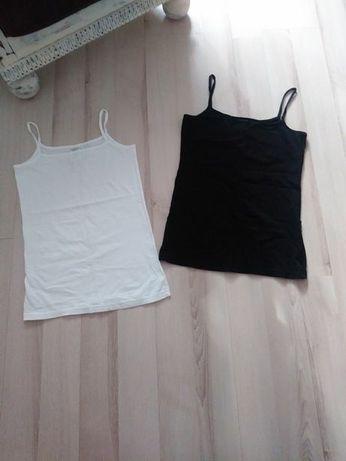 Nowy zestaw koszulek topów XS S M 100% bawełna