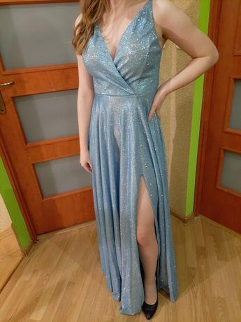 Niepowtarzalna sukienka rozmiar S