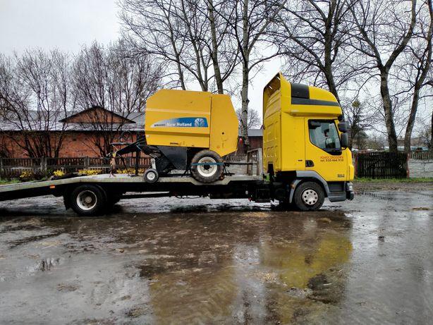 Transport specjalistyczny maszyn rolniczych budowlanych pomoc drogowa