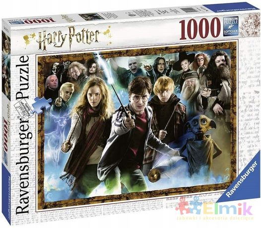 puzzle 1000 harry potter czarodzieje ravensburger
